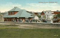 Railway Station, Wolfville, N.S.