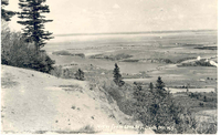 View from the Look-Off, North Mountain, N.S.