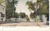 Main Street Looking West, Wolfville, N.S.