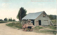 Basil's Blacksmith Shop, Grand Pre., N.S.