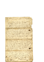 Land transaction Abraham Harding to Charles Dickson