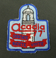 Acadia '77 patch