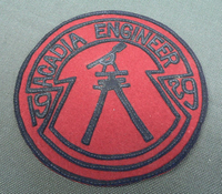 Acadia Engineer Patch