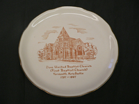 Church Plate : Zion Baptist Church of Yarmouth
