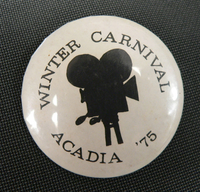 Winter Carnival Button '75