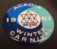 Winter Carnival Button 1967