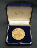 The Associated Alumni of Acadia Gold coin