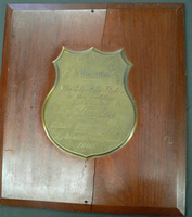 Electric Lights Plaque