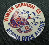 Winter Carnival Button 1965