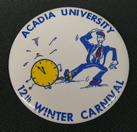 12th Winter Carnival Button