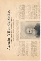 Acacia Villa Gazette