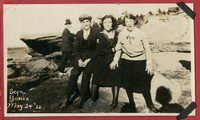 Four unidentified individuals