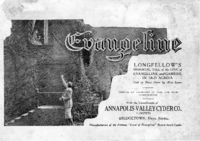 Evangeline : Longfellow's immortal tale of the love of Evangeline and Gabriel in old Acadia / told in story form by Alice Lane.