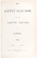 Baptist year book for Nova Scotia, New Brunswick, and Prince Edward Island.